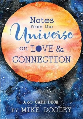Notes from the Universe on Love & Connection: A 60-Card Deck ,oraclekort,änglakort,tarot,moderjord-nu